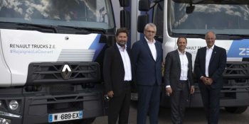 Urby adquiere 20 camiones Renault Trucks Electric D ZE